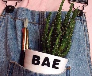 bae, pink, and grunge image