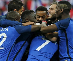 fff, football, and france image