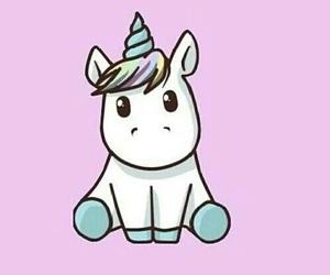 unicorn, wallpaper, and pink image