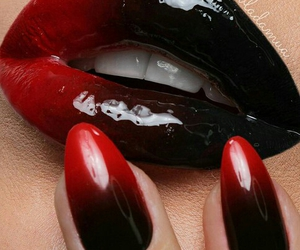girls, nails, and lips image