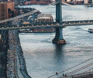 bridge, new york, and nyc image