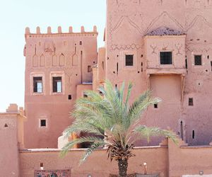 travel, pink, and morocco image