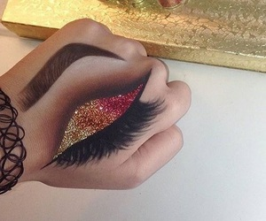 amazing, eye liner, and fashion image
