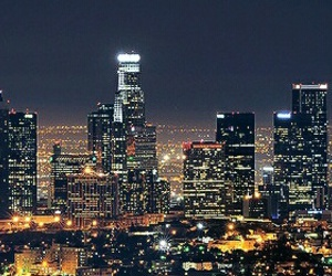 l.a., skyline, and travel image