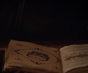 book, grimoire, and books image