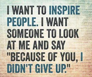 inspire, quotes, and inspiration image