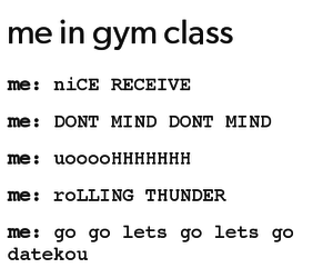 anime, funny, and gym image