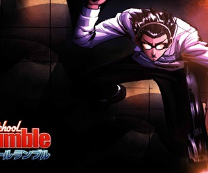 anime, school rumble, and harima image