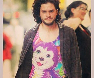 jon snow, funny, and game of thrones image