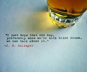 quote, drunk, and drink image