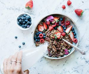 healthy, breakfast, and delicious image