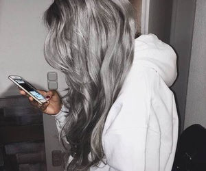 hair, grey, and goals image