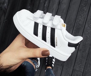 shoes, adidas, and child image