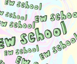 school, ew, and ew school image