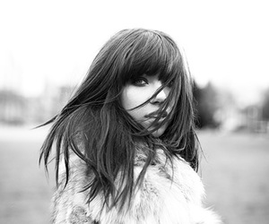 carly rae jepsen, carly, and black and white image