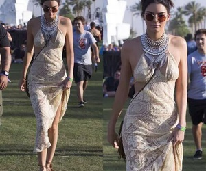 coachella, famous, and Kendall image