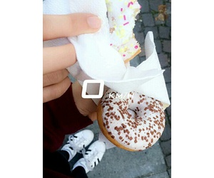 adidas, donuts, and superstar image