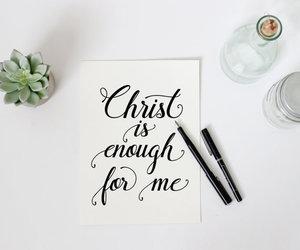 Christ, god, and enough image