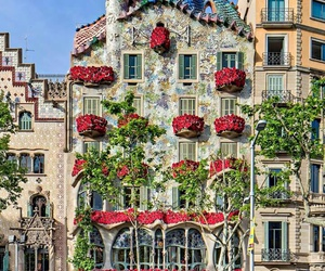 Barcelona, casa batllo, and Gaudi image