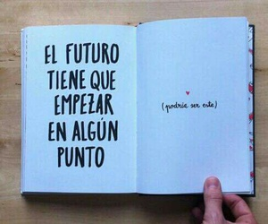 book, point, and futuro image