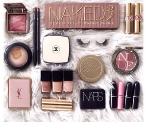 chanel, nars, and rose gold image