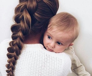 baby, hair, and beauty image