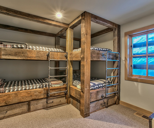 bed, bunk beds, and Dream image