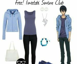 free, haru, and haruka nanase image