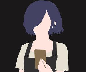 anime, manga, and minimalist image