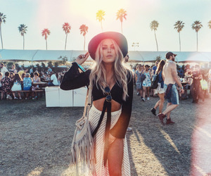 coachella, fashion, and outfit image