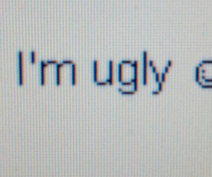 ugly, grunge, and sad image