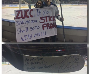Prom and stick image