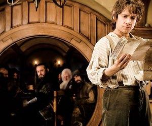 the hobbit, dwarf, and bilbo baggins image