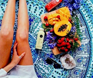 fruit, healthy, and drinks image