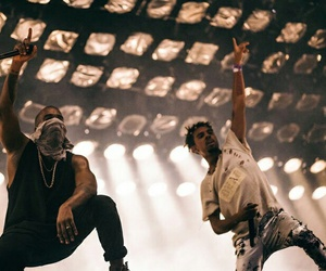 kanye west and vic mensa image