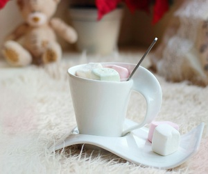coffee and marshmallow image