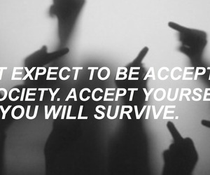 accept, be cool, and society image