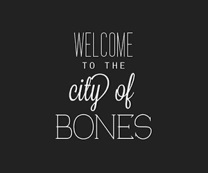 city of bones, book, and the mortal instruments image