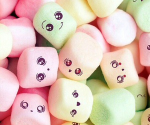 food, sweet, and marshmallows image