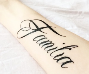 family, heart, and tattoo image