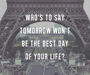 paris, quote, and life image