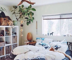bedroom and summer image