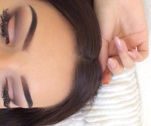 eyebrows, flawless, and goals image