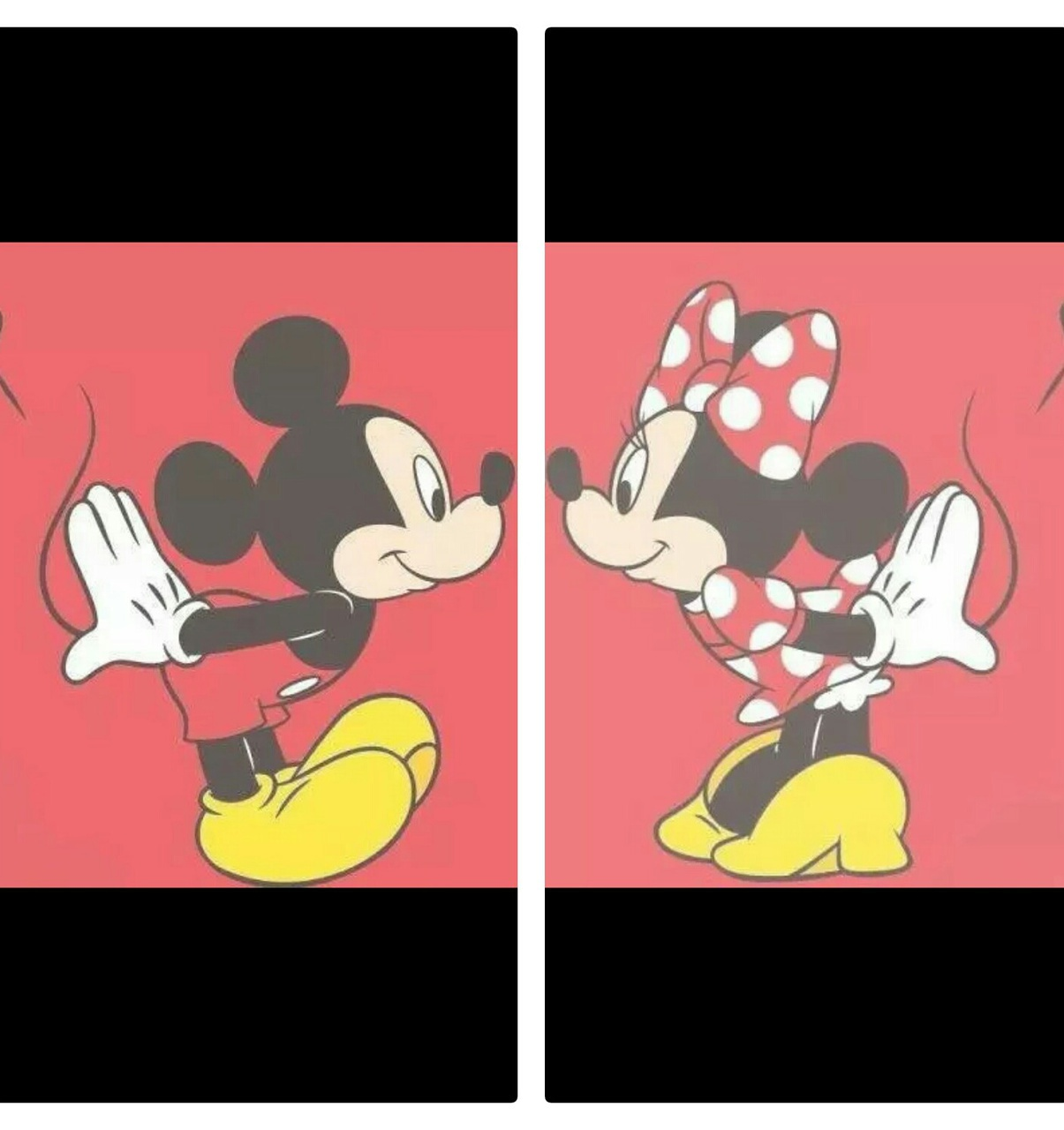 Mickey And Minnie Uploaded By Lavieenor On We Heart It
