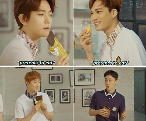 Chen, exo, and kpop funny image