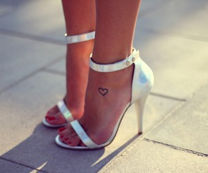 fashion, heart, and heels image