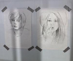art, ahs, and drawing image