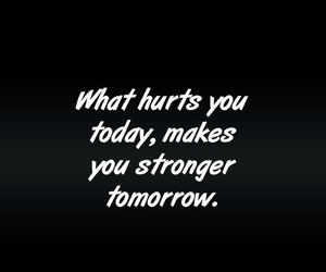 strong, hurt, and quote image