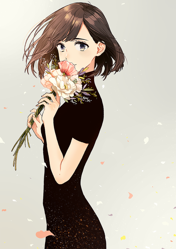 Images About  E C Bf Anime Girl Brown Hair  E C Bf On We Heart It See More About Anime Anime Girl And Kawaii