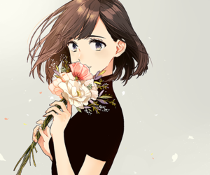390 images about anime girl brown hair on we heart it